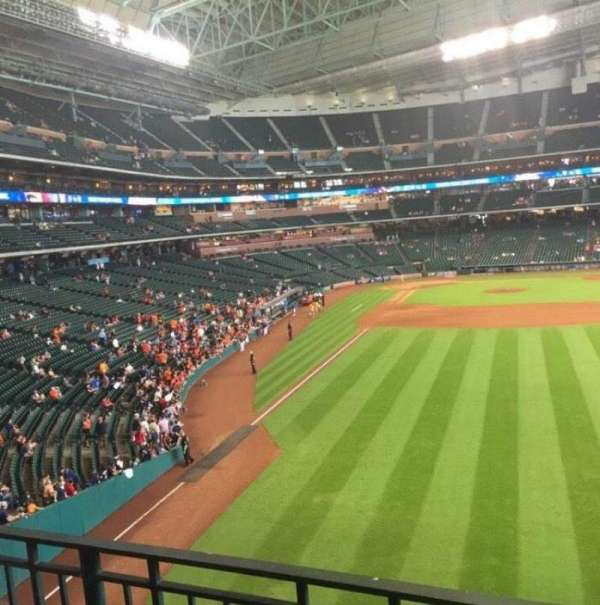 Minute Maid Park, section: 252, row: 2, seat: 5