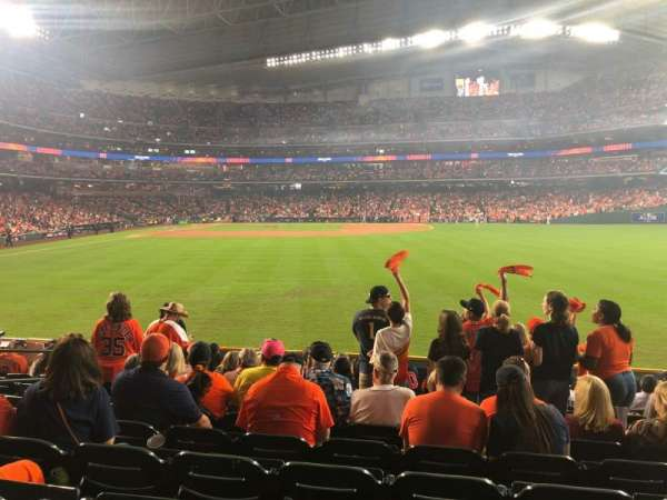 Minute Maid Park, section: 154, row: 10, seat: 8