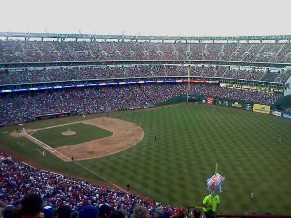 Globe Life Park in Arlington, section: 341, row: 13, seat: 16