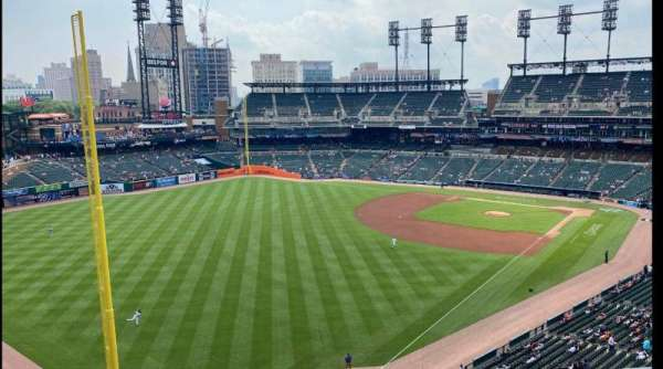 Comerica Park, section: 344, row: 1, seat: 10