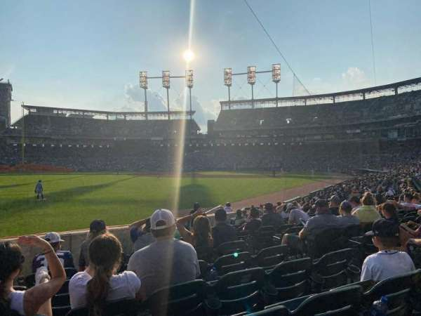 Comerica Park, section: 143, row: 19, seat: 6