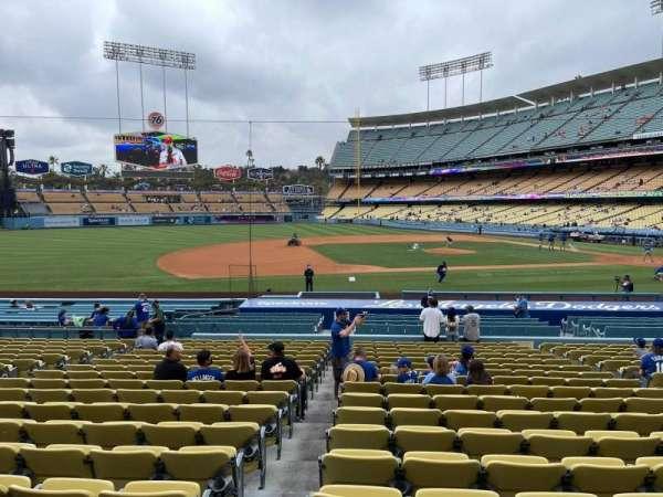 Dodger Stadium, section: 23FD, row: T, seat: 6