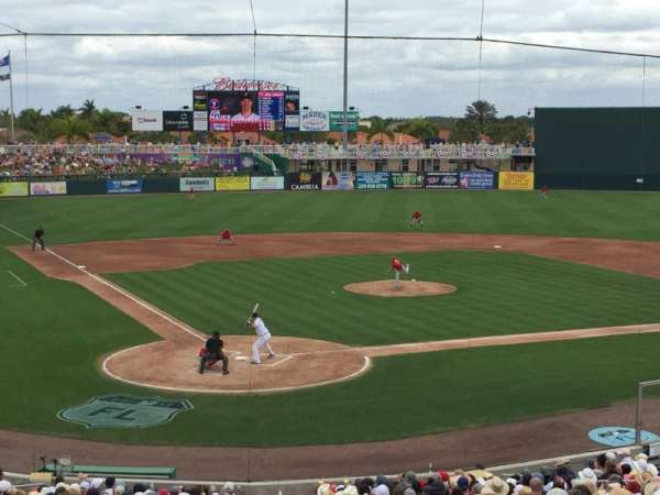 Hammond Stadium, section: 207, row: 7, seat: 7