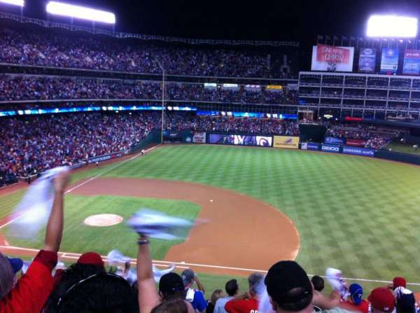 Globe Life Park in Arlington, section: 235, row: 10