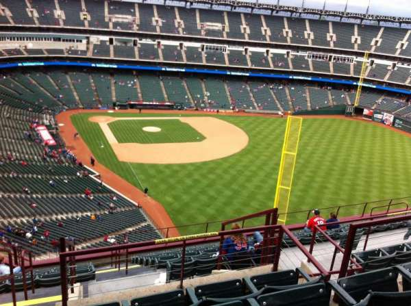 Globe Life Park in Arlington, section: 344, row: 15, seat: 1