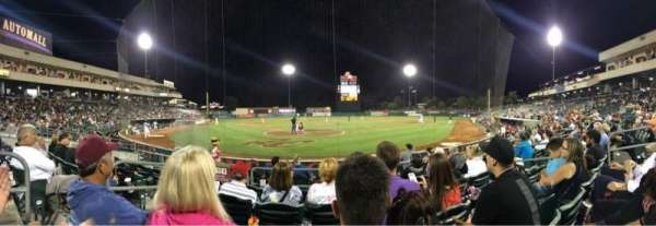 Raley Field, section: 111, row: 5, seat: 7