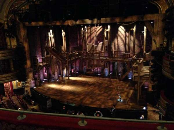 Richard Rodgers Theatre, section: Front Mezzanine R, row: C, seat: 14