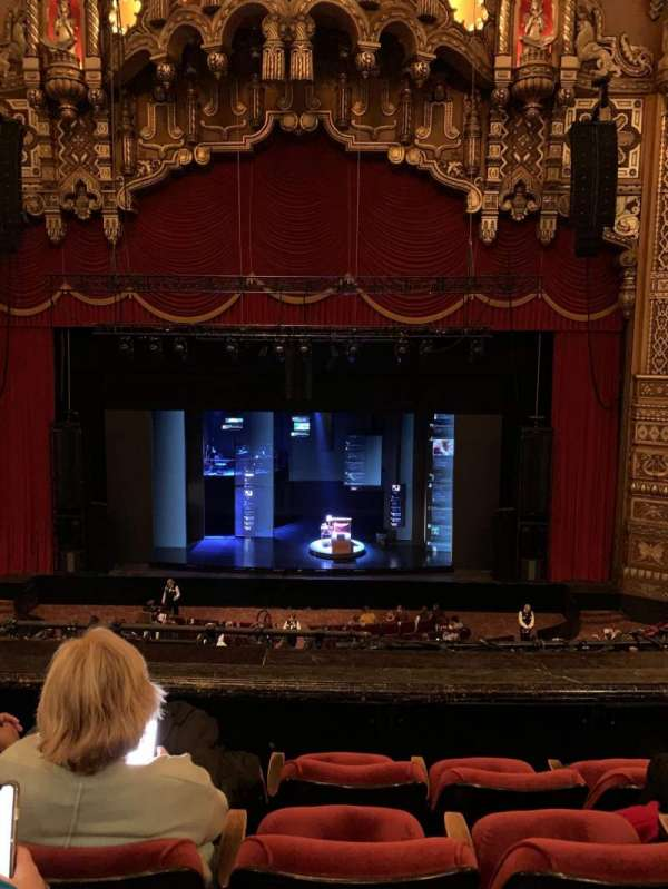 The Fabulous Fox Theatre (St. Louis), section: Balcony MZ04, row: RowDD, seat: 104