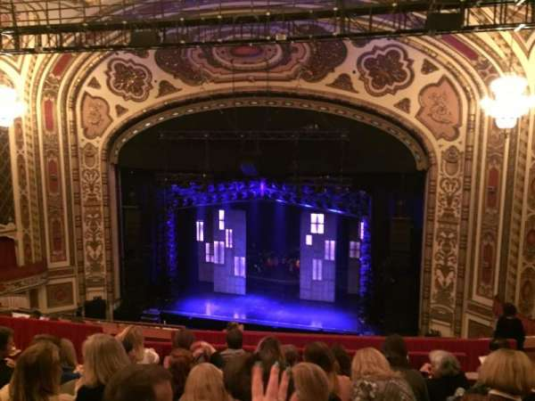 Cadillac Palace Theater, section: Balcony RC, row: J, seat: 326