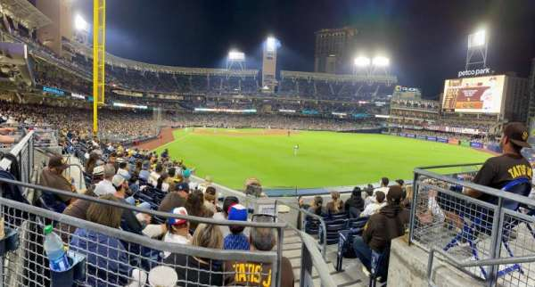 PETCO Park, section: 129, row: 6, seat: 10