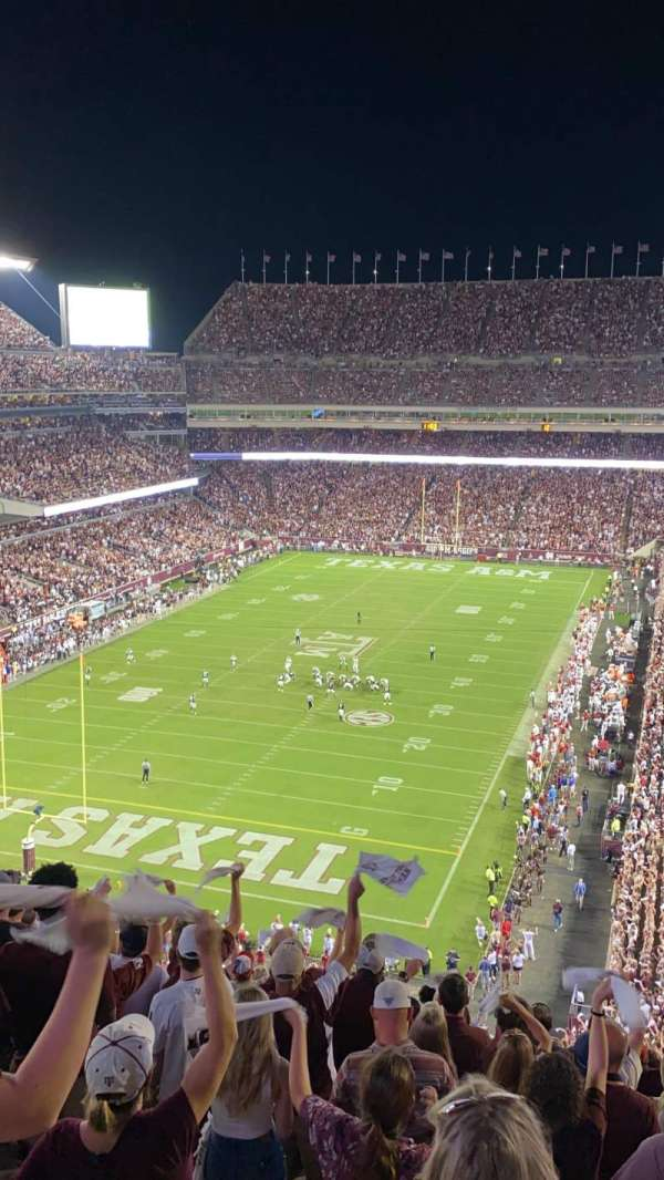 Kyle Field, section: 344, row: 12, seat: 9