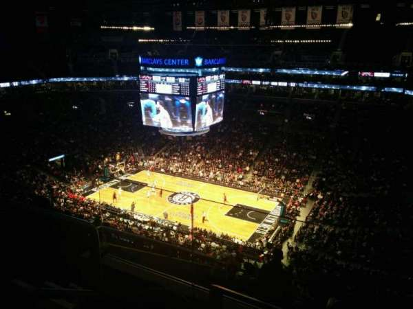 Barclays Center, section: 205, row: 9, seat: 14