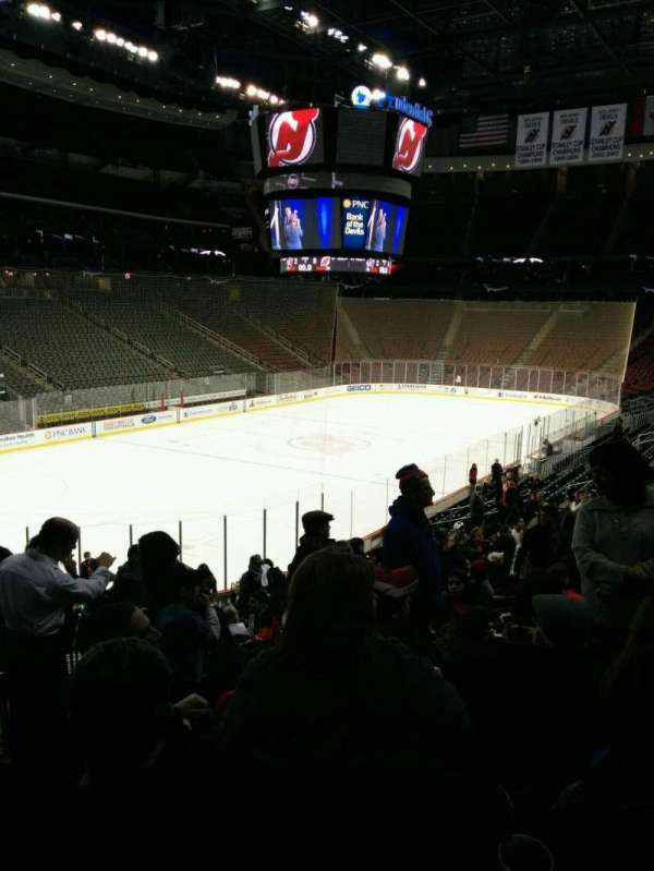 Prudential Center, section: 16, row: 22, seat: 24