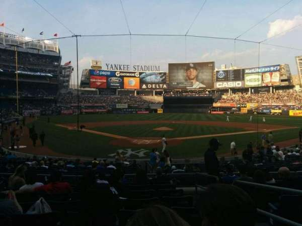 Yankee Stadium, section: 120a, row: 20, seat: 2