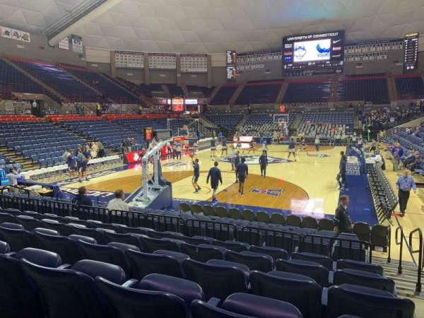 Harry A. Gampel Pavilion, section: 114, row: L, seat: 1