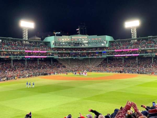 Fenway Park, section: Bleacher 36, row: 13, seat: 18