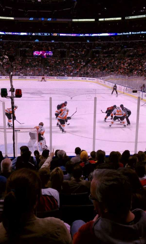 BB&T Center, section: 125, row: 11, seat: 19