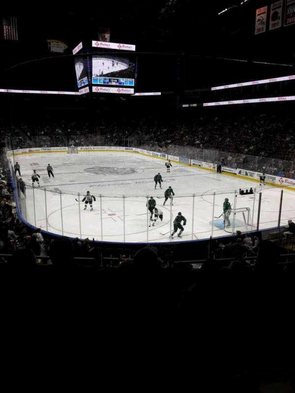 VyStar Veterans Memorial Arena, section: 121, row: S, seat: 6