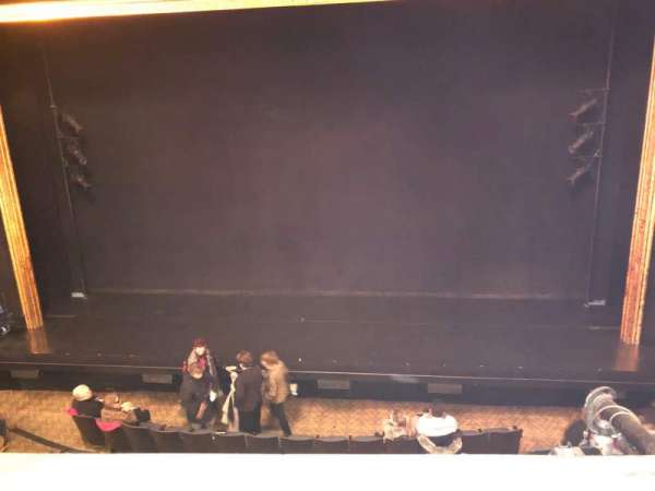Ambassador Theatre, section: Front Mezzanine RC, row: A, seat: 106