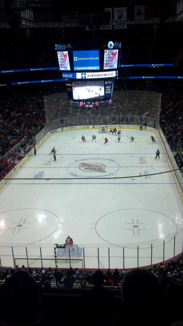 Prudential Center, section: 121, row: 14, seat: 15