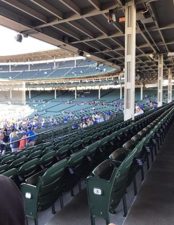 Wrigley Field, section: 213, row: 9, seat: 101