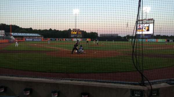 Ripken Stadium, section: 100, row: C, seat: 1