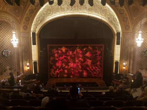 Paramount Theatre (Seattle), section: Mezzanine 13, row: H, seat: 5