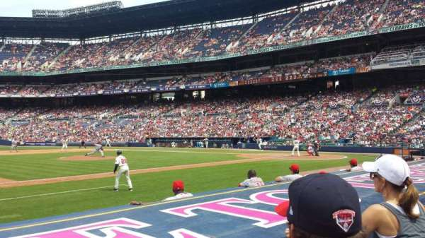 Turner Field, section: 116R, row: 7 (2nd row), seat: 5