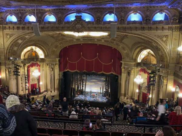 Citizens Bank Opera House, section: Balcony RC, row: V, seat: 12