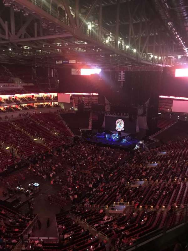 KFC Yum! Center, section: 312, row: H, seat: 13