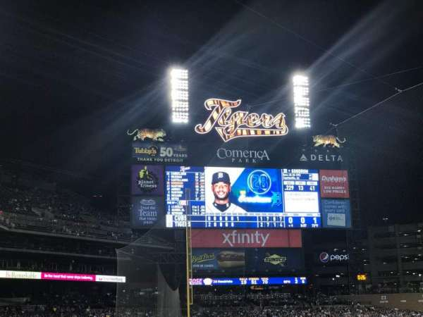 Comerica Park, section: 132, row: 23, seat: 4