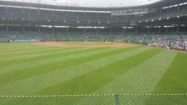 Wrigley Field, section: 502, row: 3, seat: 13