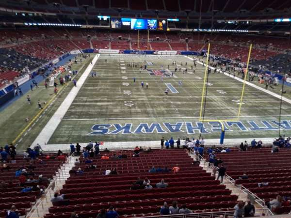 The Dome at America's Center, section: 328B, row: A, seat: 5