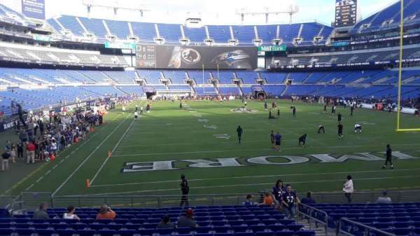 M&T Bank Stadium, section: 142, row: A, seat: 5