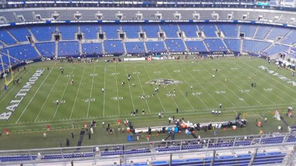 M&T Bank Stadium, section: 528, row: 8, seat: 8