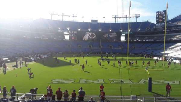 M&T Bank Stadium, section: 114, row: A, seat: 6