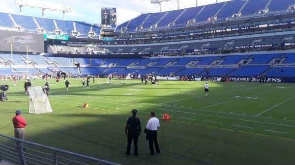 M&T Bank Stadium, section: 150, row: 4, seat: 1