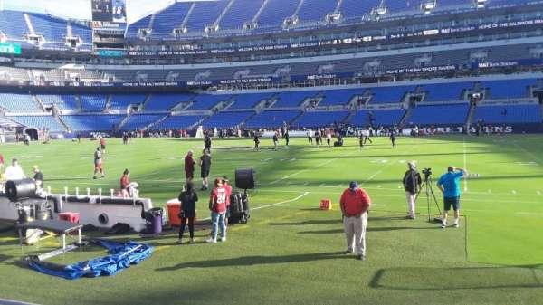 M&T Bank Stadium, section: 152, row: 4, seat: 1