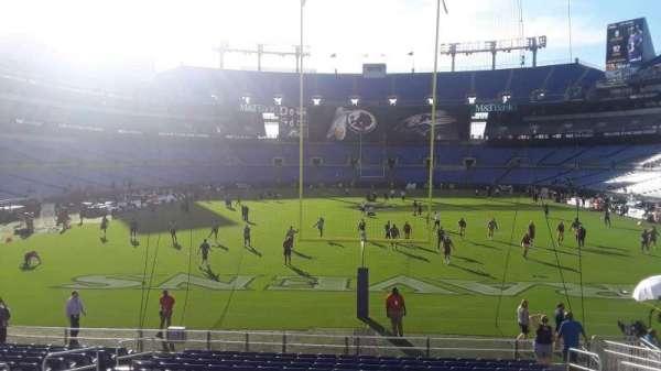 M&T Bank Stadium, section: 113, row: 16W, seat: 8