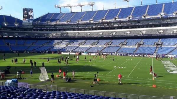 M&T Bank Stadium, section: 123, row: 16W, seat: 4