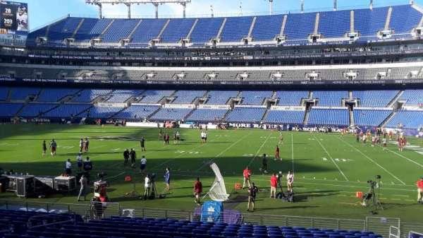M&T Bank Stadium, section: 124, row: 18, seat: 8