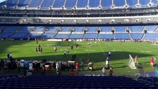 M&T Bank Stadium, section: 125, row: 18, seat: 8
