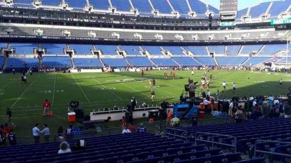 M&T Bank Stadium, section: 128, row: 18, seat: 8