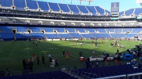 M&T Bank Stadium, section: 129, row: 16W, seat: 4