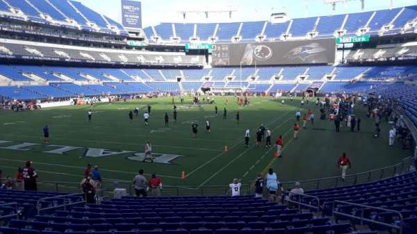 M&T Bank Stadium, section: 136, row: 18, seat: 8