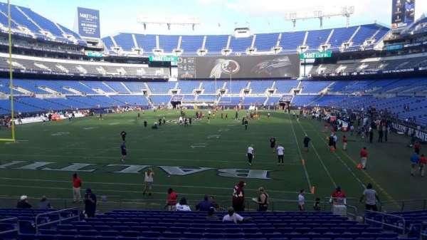 M&T Bank Stadium, section: 138, row: 18, seat: 8