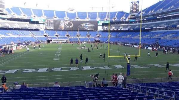 M&T Bank Stadium, section: 141, row: 18, seat: 8