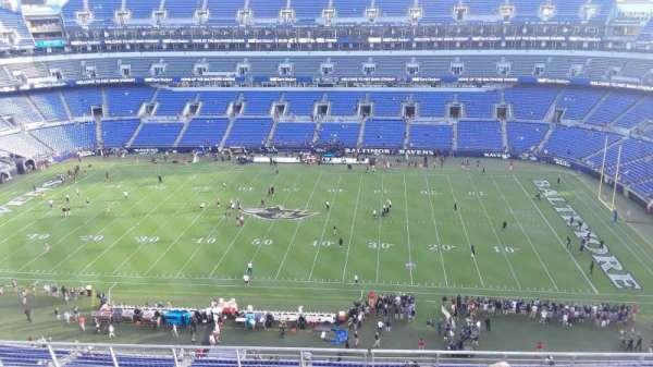 M&T Bank Stadium, section: 552, row: 8, seat: 8