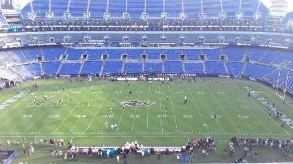 M&T Bank Stadium, section: 553, row: 8, seat: 8