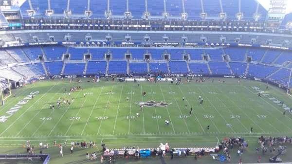 M&T Bank Stadium, section: 500, row: 8, seat: 8